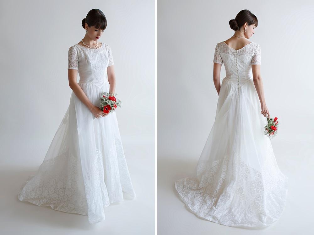 Beloved Vintage Bridal - The Grace Wedding Dress