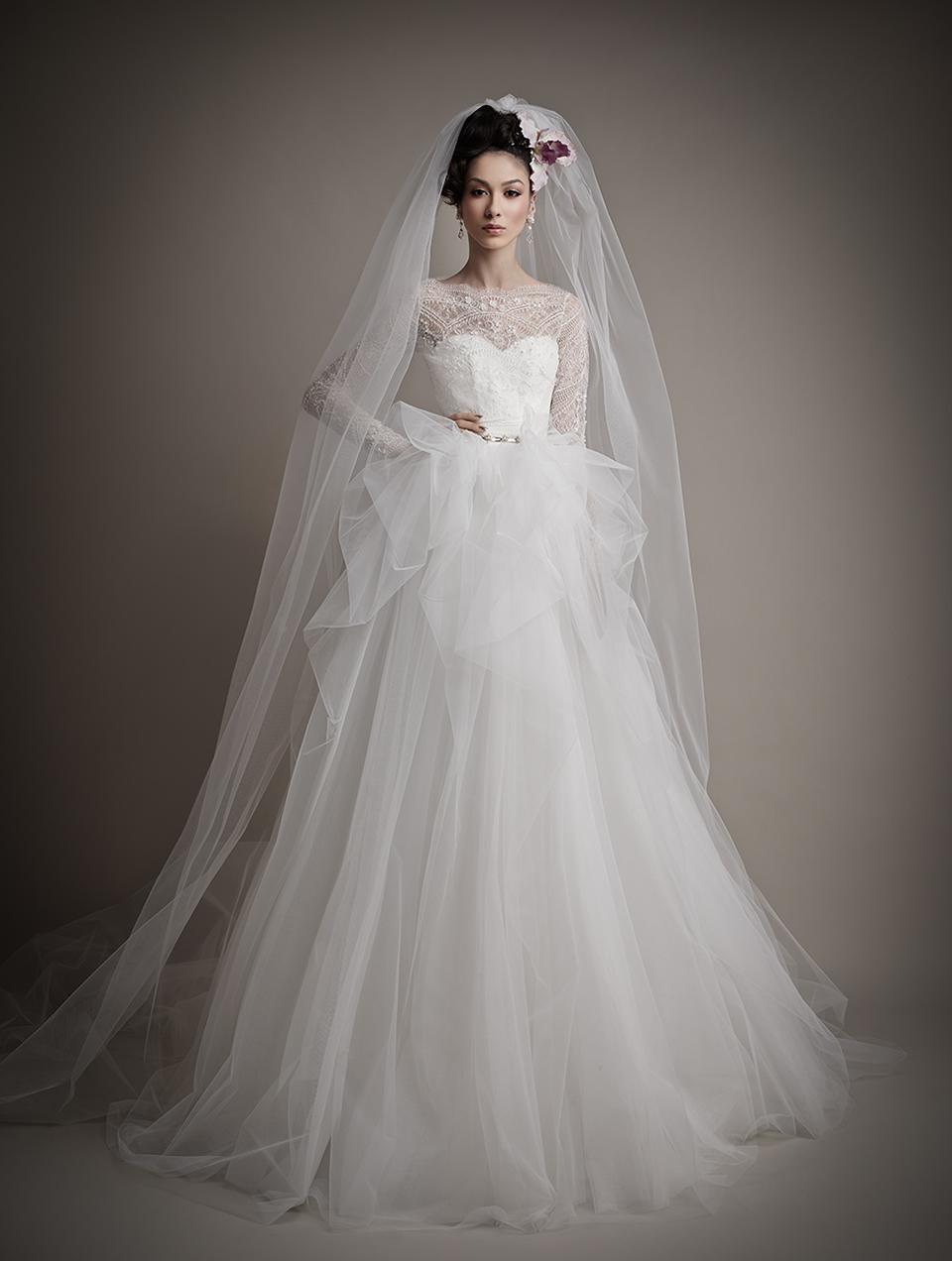 Ersa Atelier's 2015 Bridal Collection - Mavia Wedding Dress
