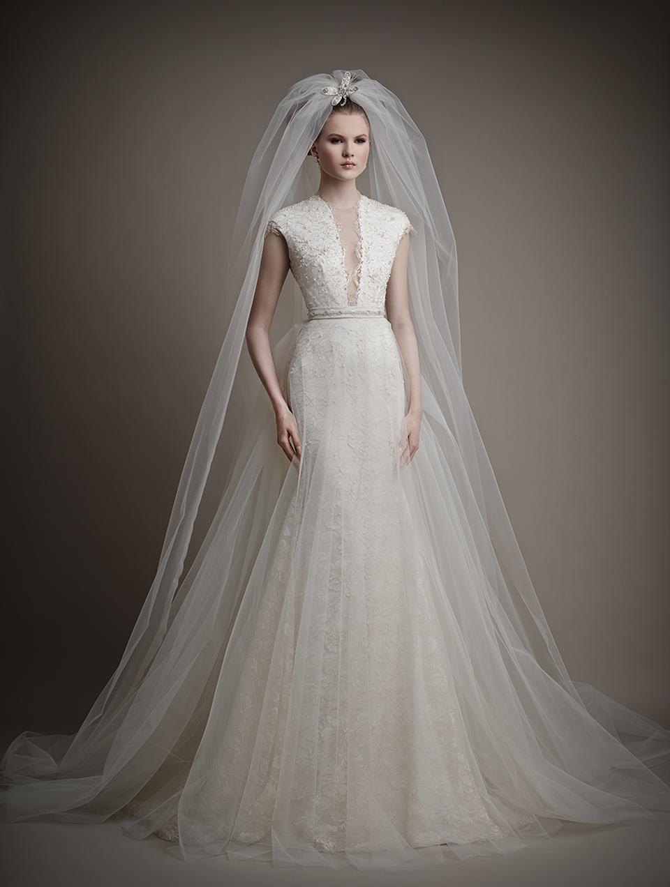 Ersa Atelier's 2015 Bridal Collection - Didda Wedding Dress