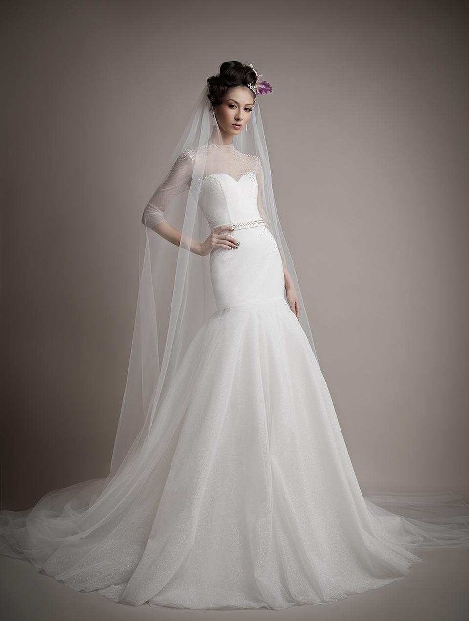 Ersa Atelier's 2015 Bridal Collection - Blanche Wedding Dress