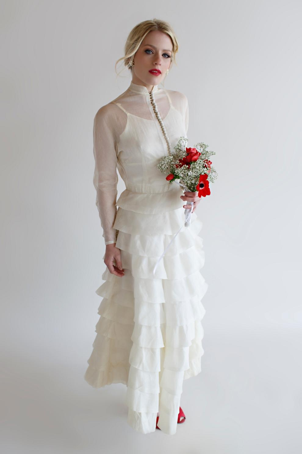 Beloved Vintage Bridal - The Lillie Gown