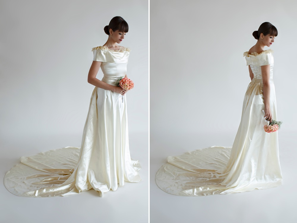 Beloved Vintage Bridal - The Evelyn Wedding Dress