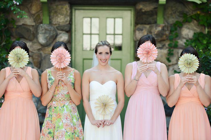 10 Unique & Creative Bridesmaid Bouquet Alternatives - Fans
