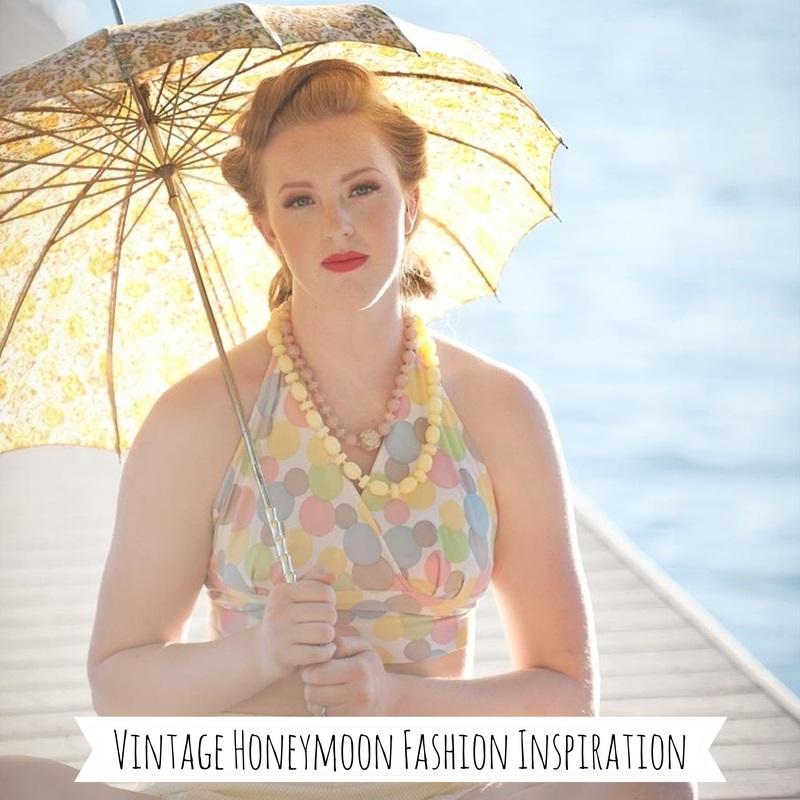 Vintage Honeymoon Fashion Inspiration