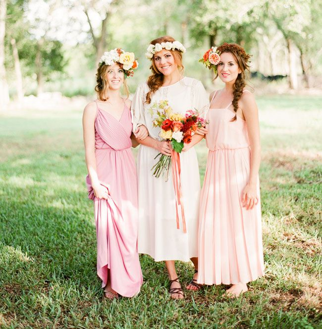 10 Unique & Creative Bridesmaid Bouquet Alternatives - Flower Crowns