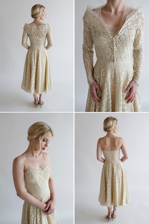 Beloved Vintage Bridal - The Lillian Wedding Dress