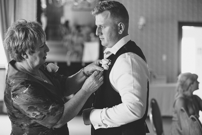 Groom & Mum - A Tea Length Wedding Dress for a Fabulously Relaxed, 1950s Inspired Wedding from Emily Raftery Photography