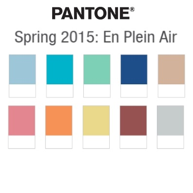 Wedding Inspiration Boards in Pantone's Spring 2015 Top 10 Colours