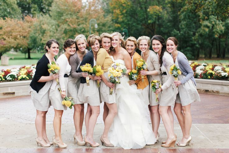 5 Must Haves for an Amazing Autumn Wedding - Something for your bridesmaids