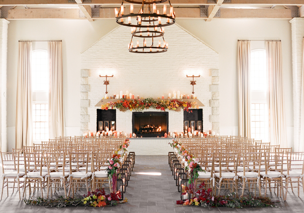 5 Must Haves for The Perfect Autumn Wedding - a venue that makes the most of the season