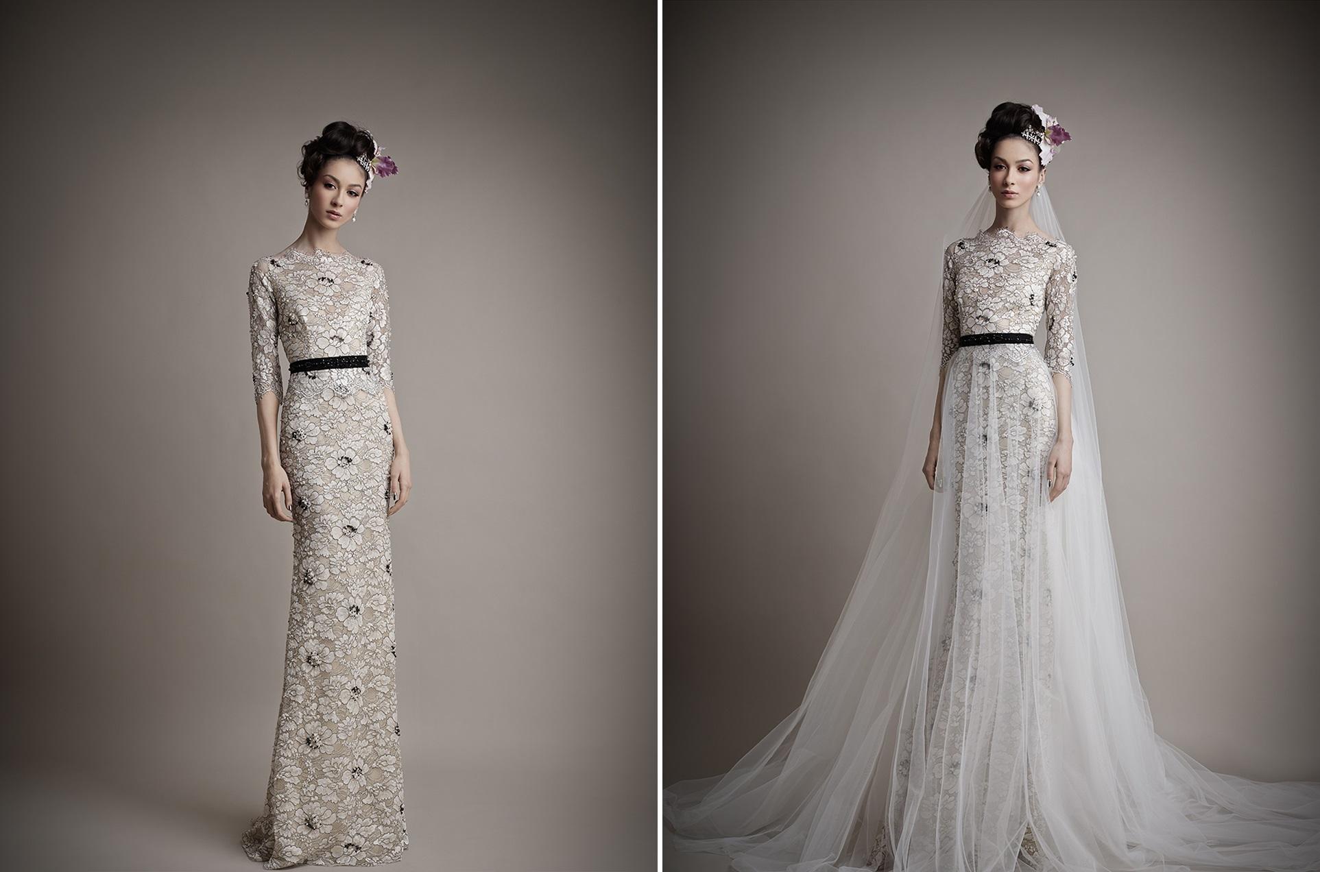 Ersa Atelier's 2015 Bridal Collection - Kahina Wedding Dress