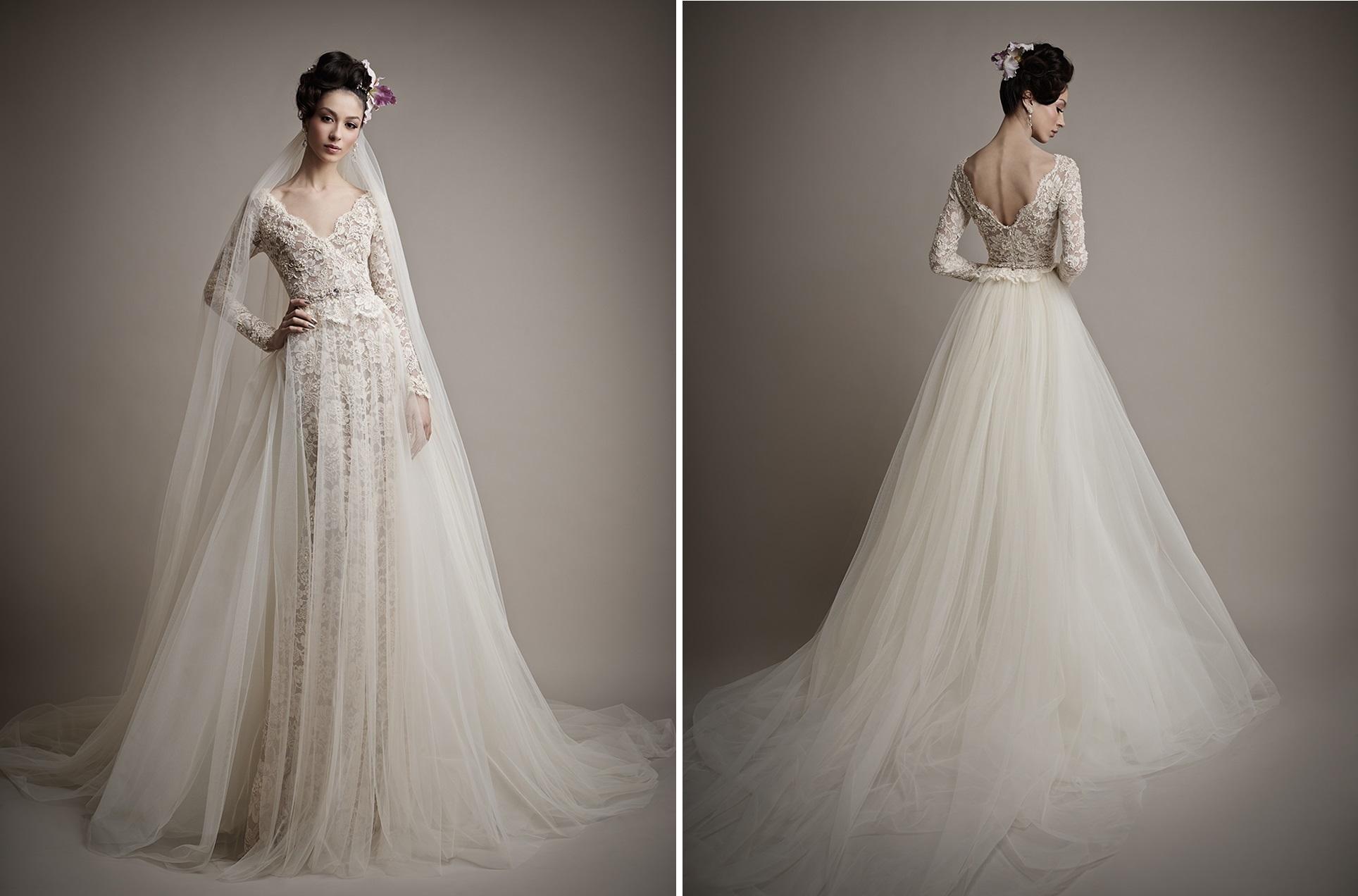 Ersa Atelier's 2015 Bridal Collection - Yatie Wedding Dress