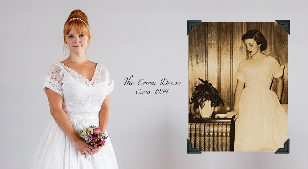Beloved Vintage Bridal - The Emma Dress