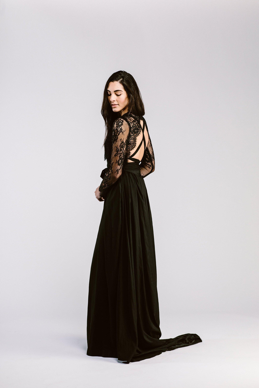 Black Bridal Separates