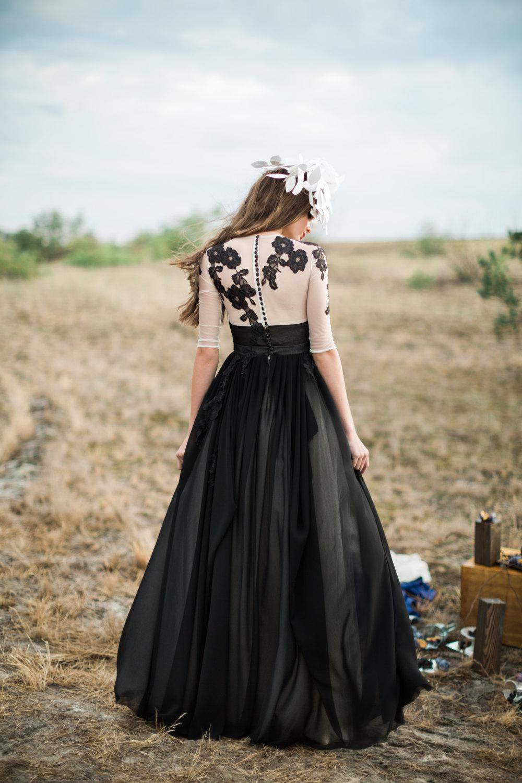 20 Beautiful And Bold Black Wedding Dresses Chic Vintage Brides