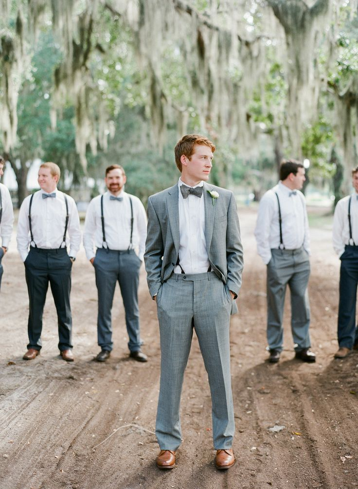 10 Ways To Style Your Groom Vintage Braces
