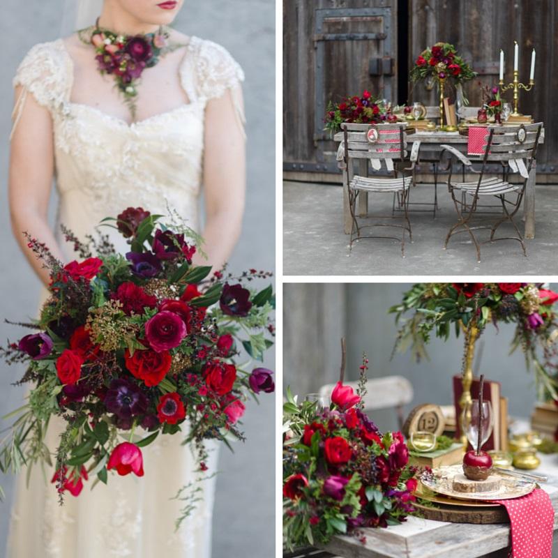 An Urban Secret Garden - Stunning Autumn Wedding Inspiration