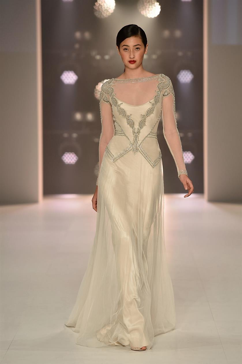 Emma - Gwendolynne Long Sleeved Wedding Dress