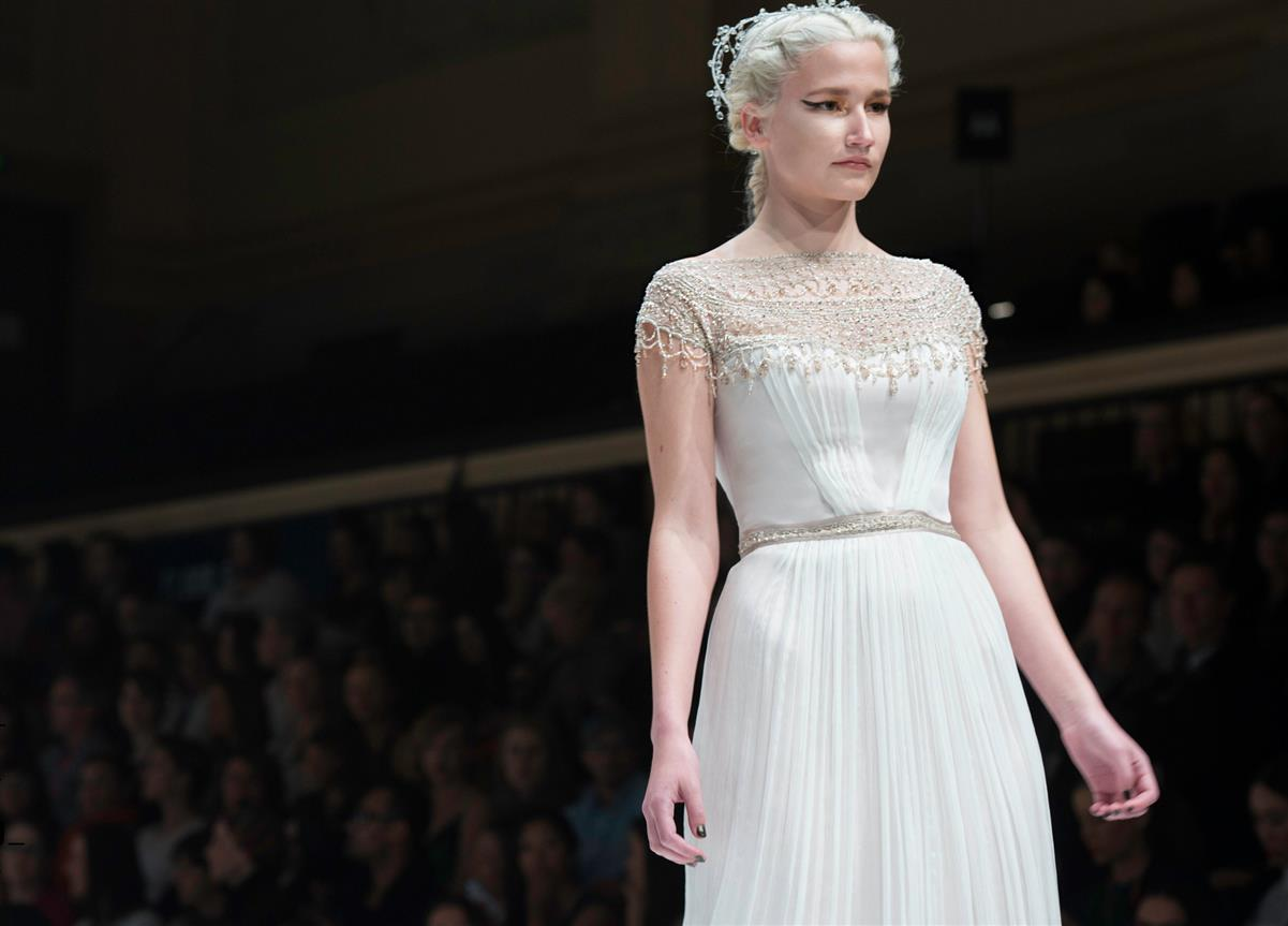 Gwendolynne Alexis  Wedding Dress MSFW 2014