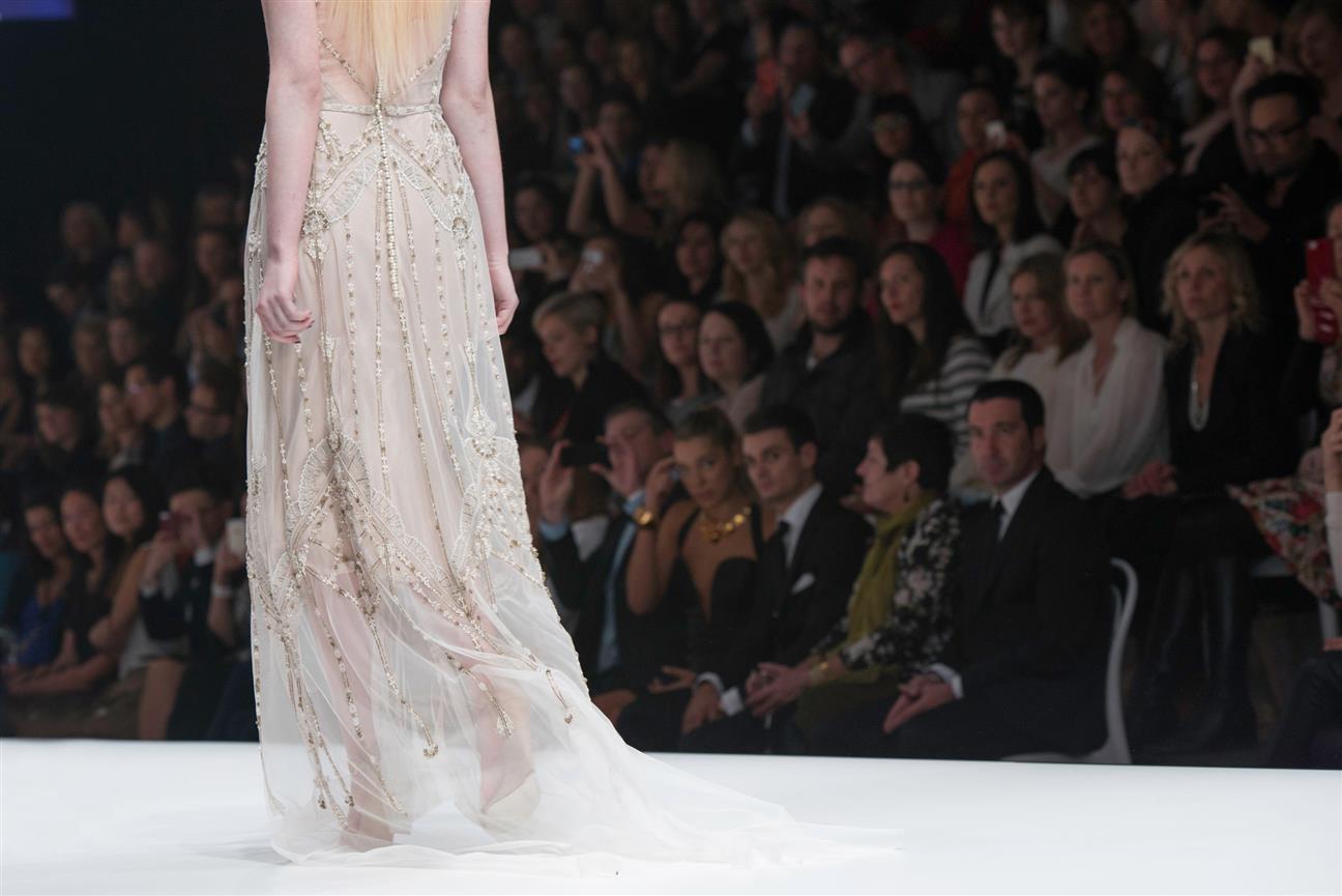 Gwendolynne Nouveau Wedding Dress Back