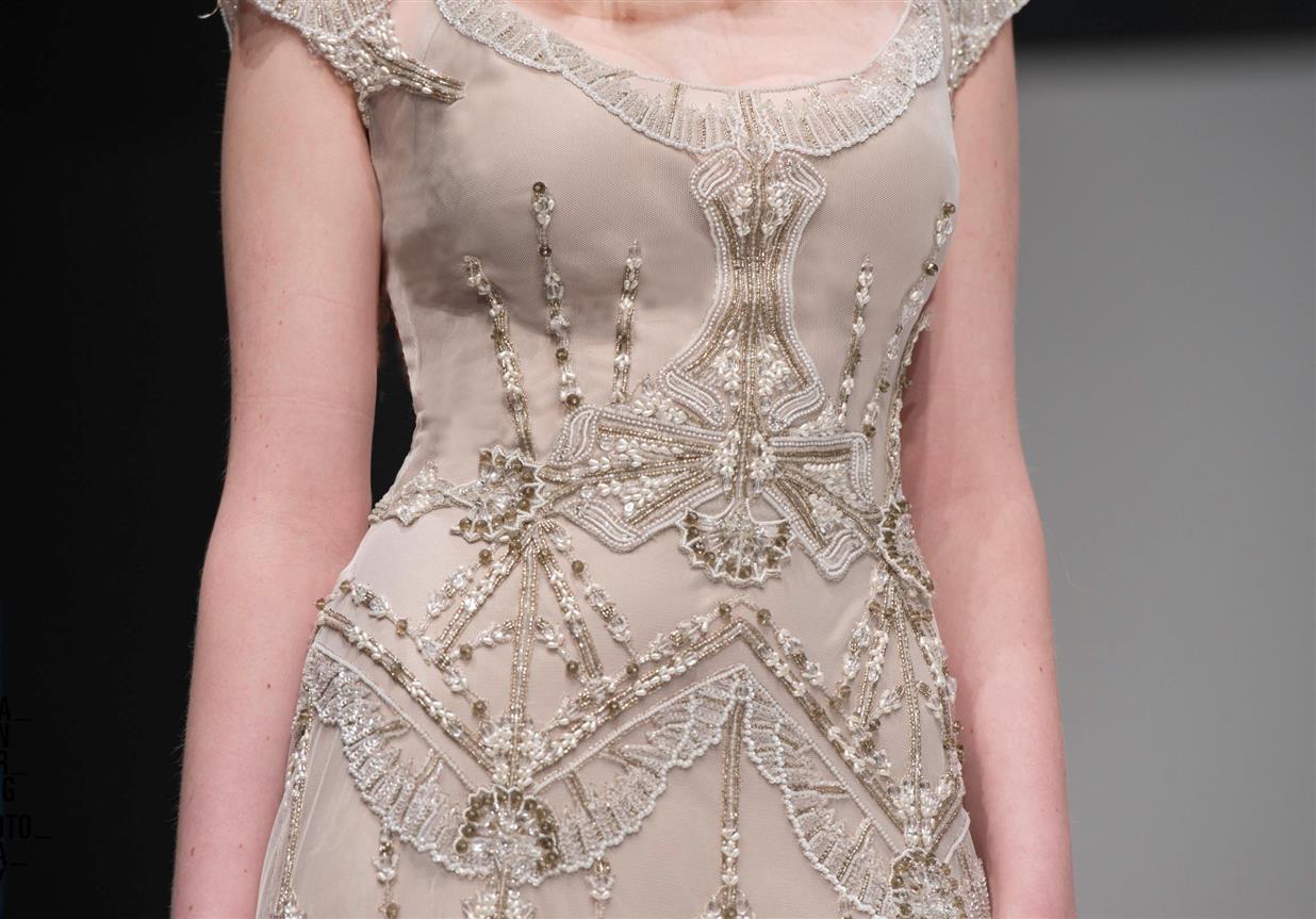 Gwendolynne Nouveau Wedding Dress Embellishment