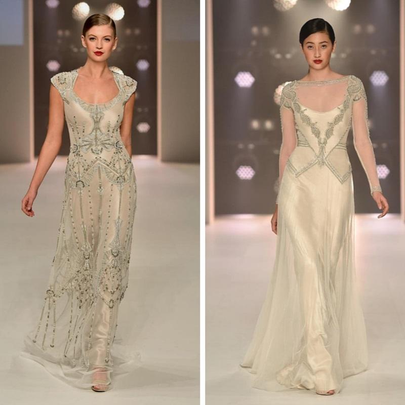 Magical Art Deco Wedding Dresses From Gwendolynne Chic Vintage