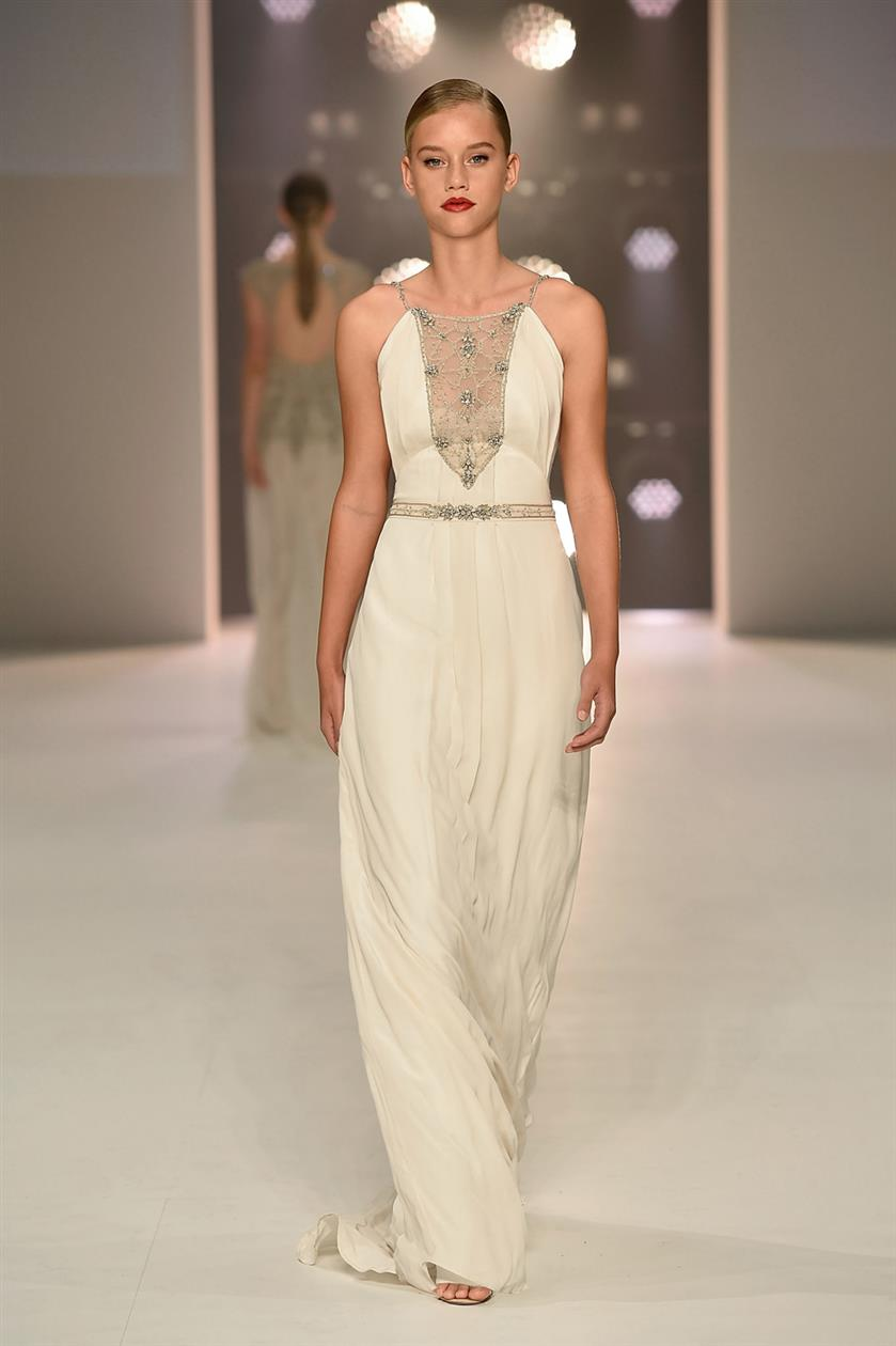 Game of Thrones inspiried Khaleesi  - Vintage Inspired Wedding Dresses from Gwendolynne