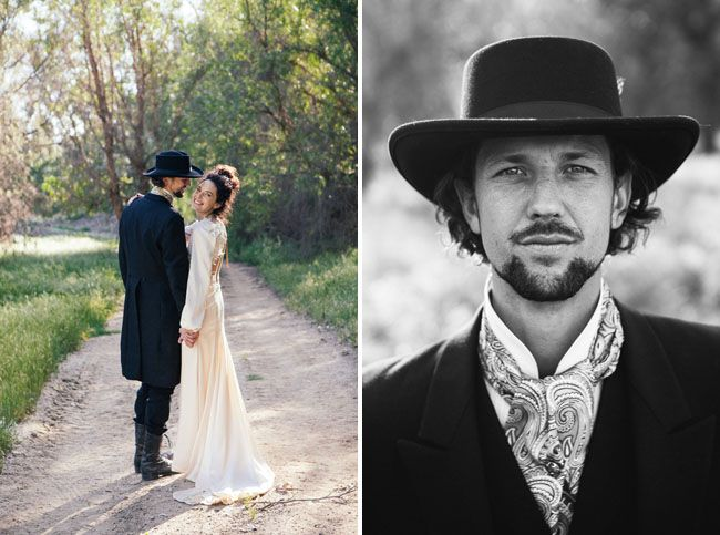 10 Ways to Style Your Groom Vintage - Cravat