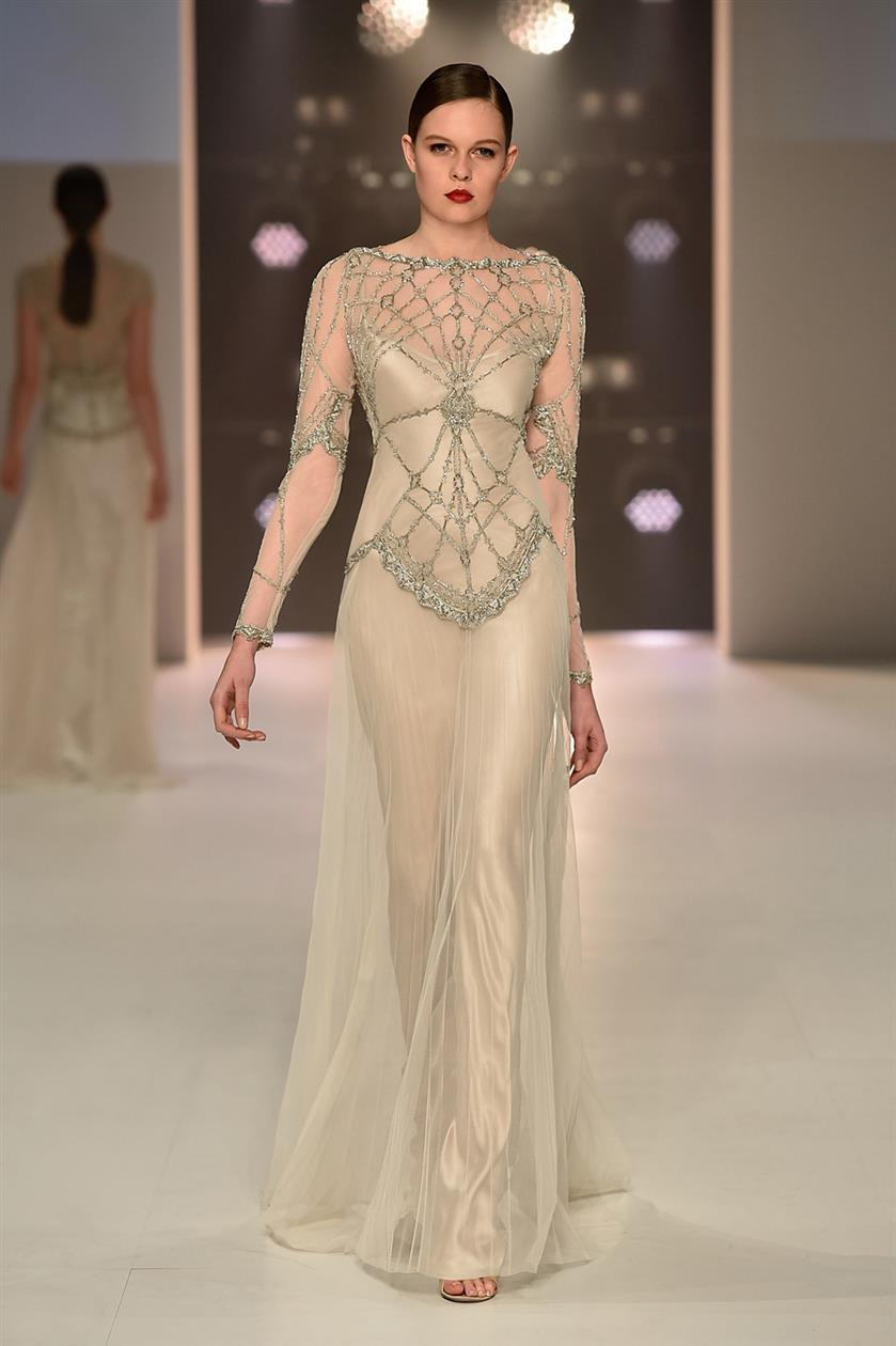 Phoebe - Art Deco Wedding Dresses from Gwendolynne
