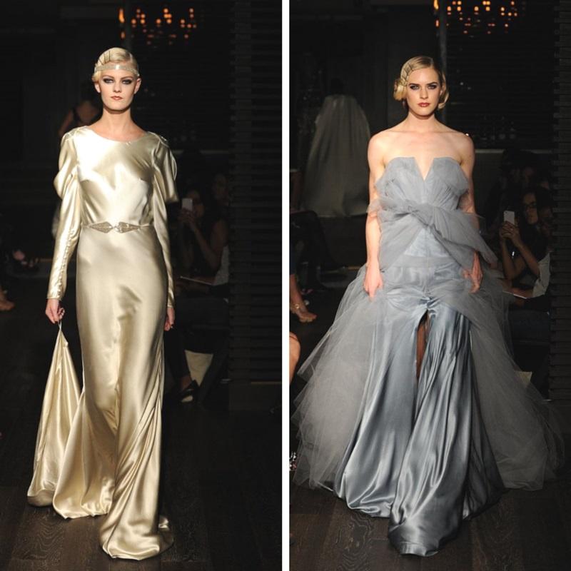 """Starlet"" Johanna Johnson's 2015 Bridal Collection"