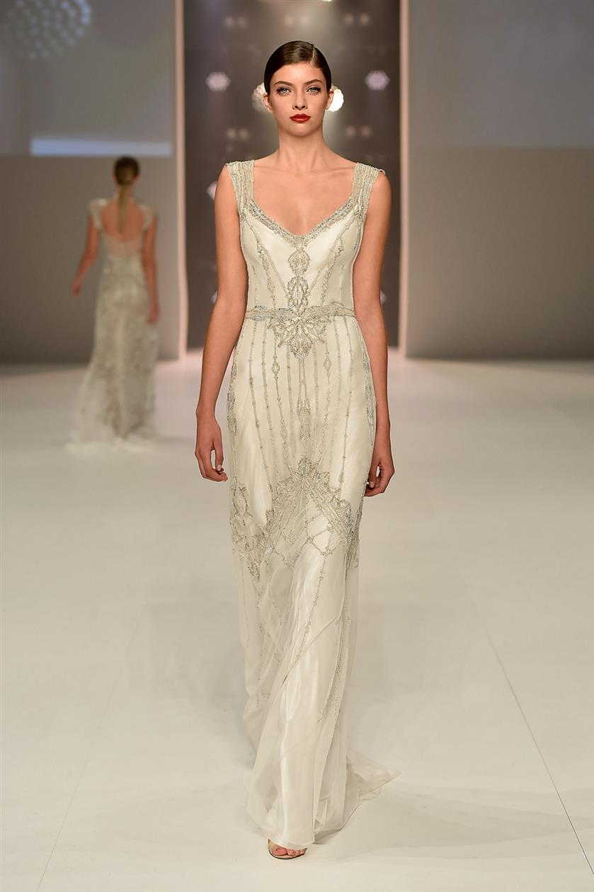 Willow Art Deco Wedding Dresses From Gwendolynne