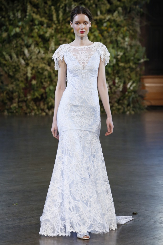 Edwardian Inspired Wedding Dress from the Gothic Angel Bridal Collection by Claire Pettibone