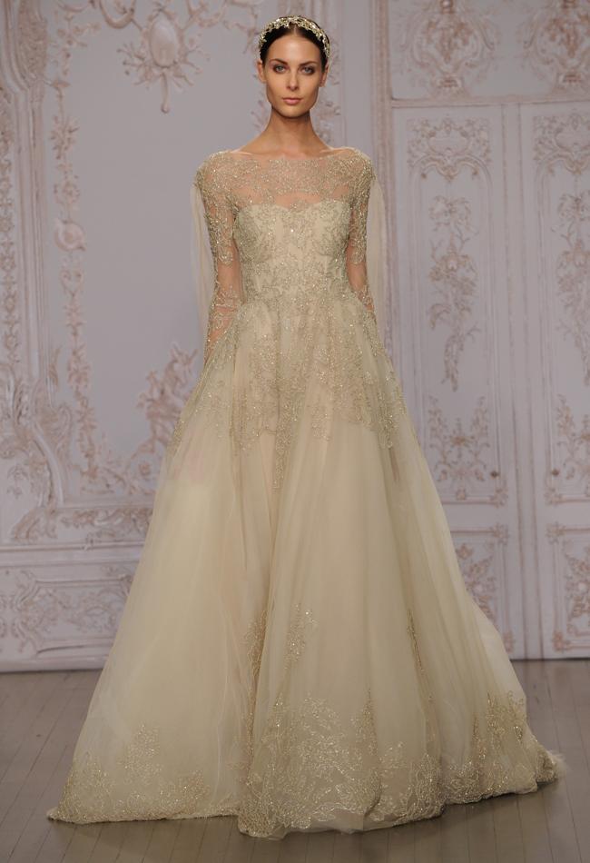 Fall 2015 Bridal Collections - Monique Lhuillier