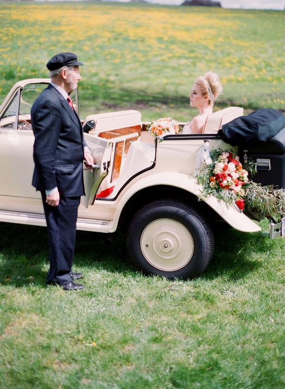 Vintage 1930s Autumn Wedding Inspiration by Kirill Bordon Photography