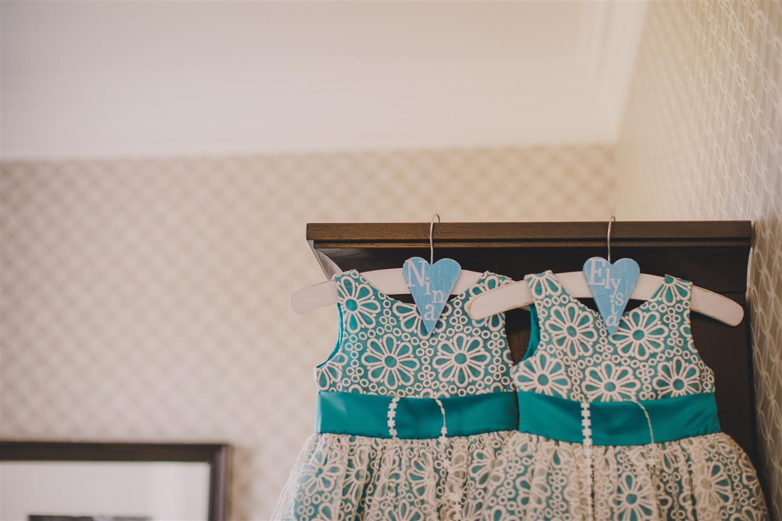 Flower Girls Dresses - A Spring 1960s Inspired Wedding