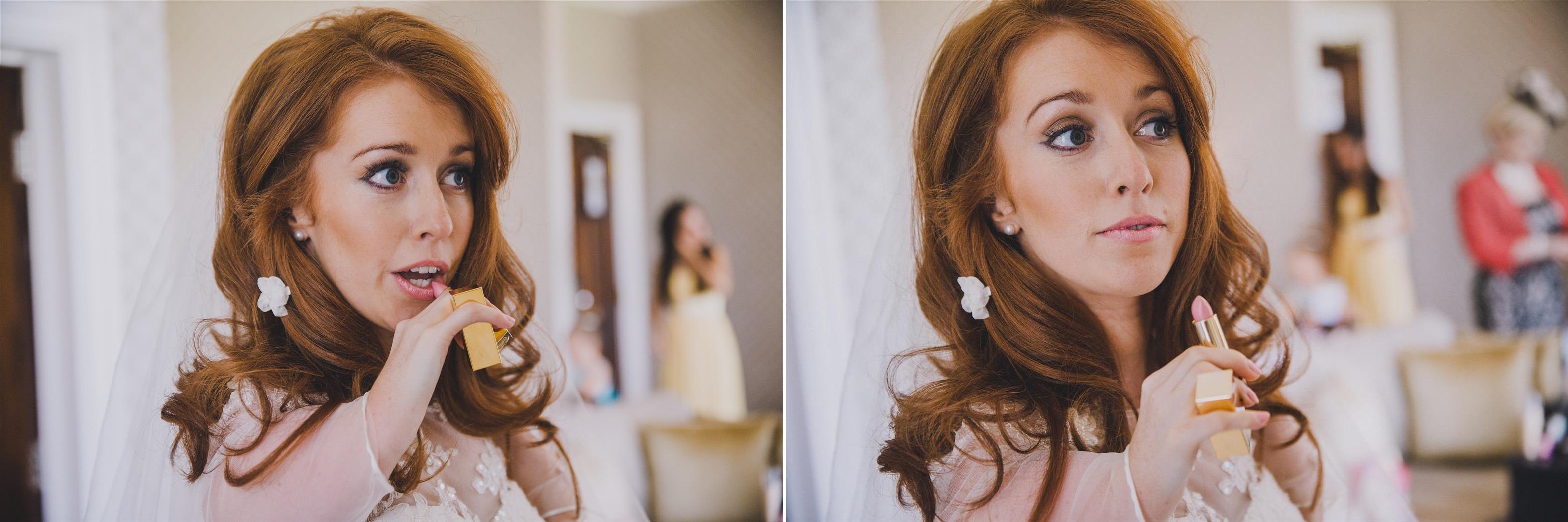 Bridal Makeup - A Spring 1960s Inspired Wedding