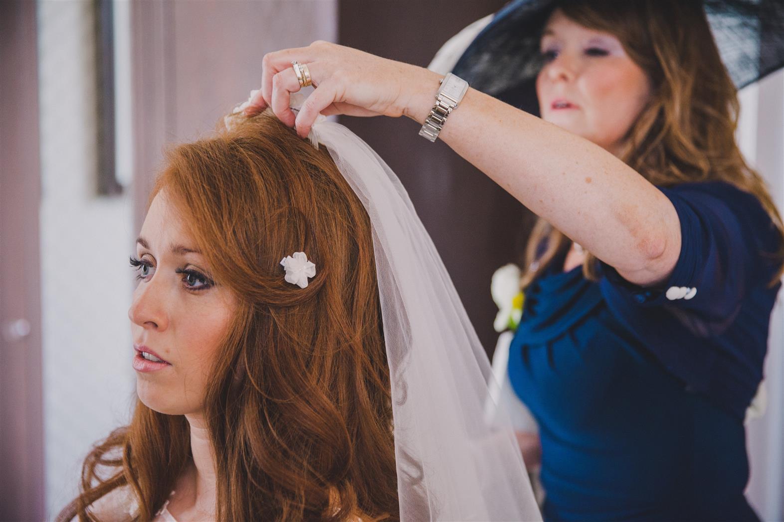 Bridal Veil - A Spring 1960s Inspired Wedding