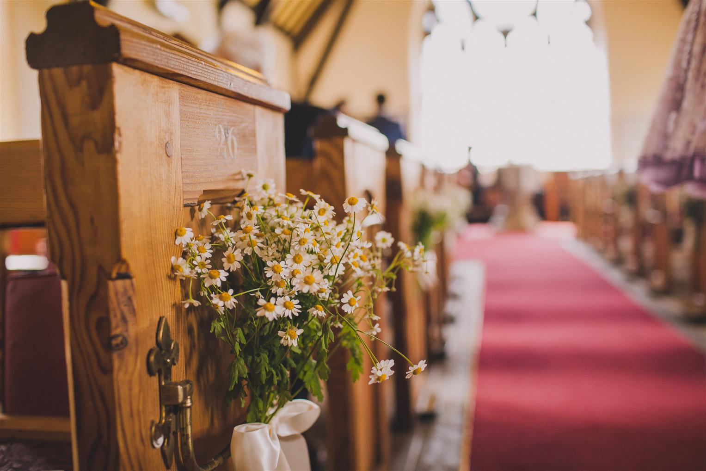 Church - A Spring 1960s Inspired Wedding