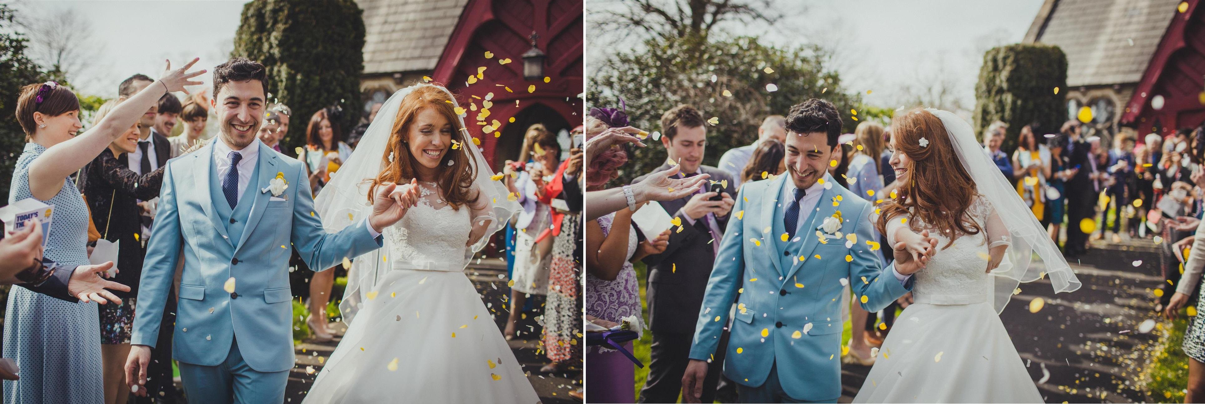 Church Wedding - A Spring 1960s Inspired Wedding