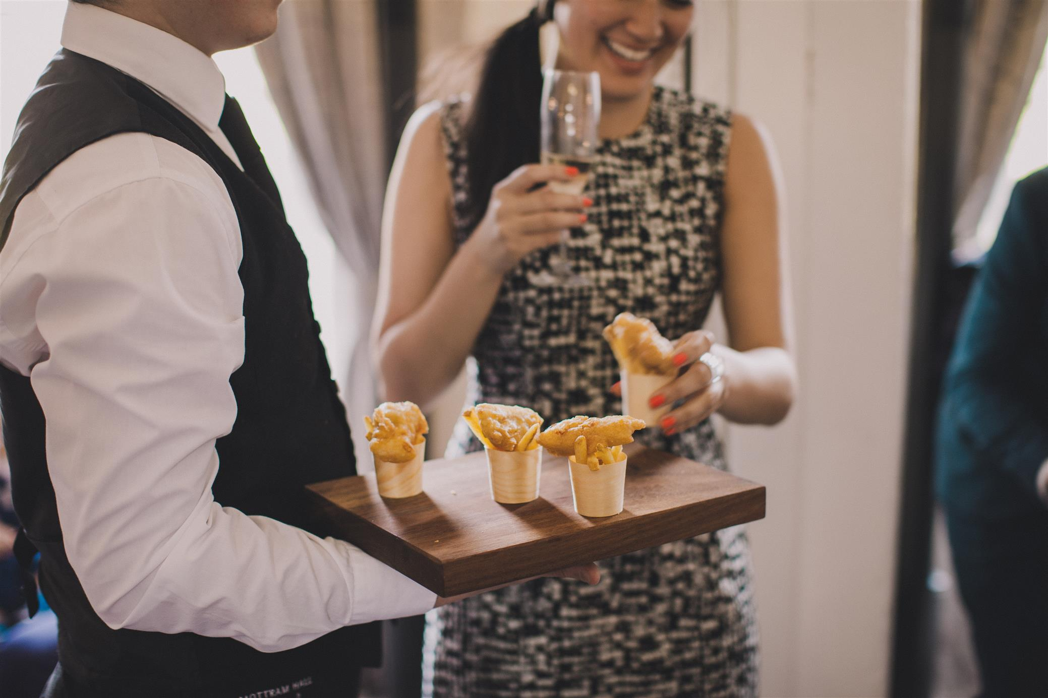 Canapes - A Spring 1960s Inspired Wedding