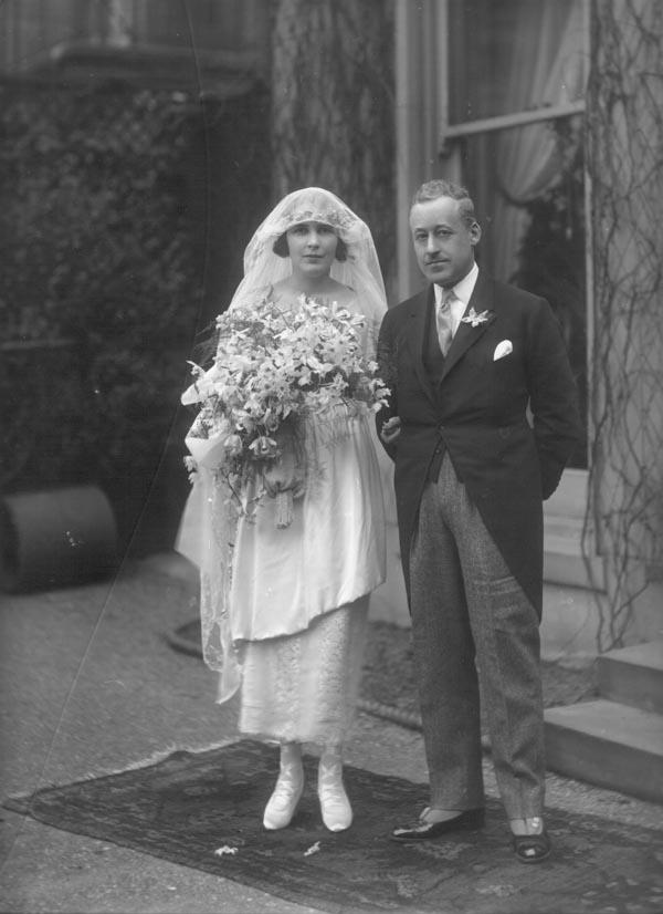 Chic Vintage 1920s Bride - May Constance Coles