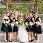 30 Beautiful Little (and Long) Black Dresses Perfect For Bridesmaids