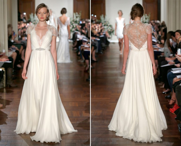 Jenny Packham's Dentelle Wedding Dress