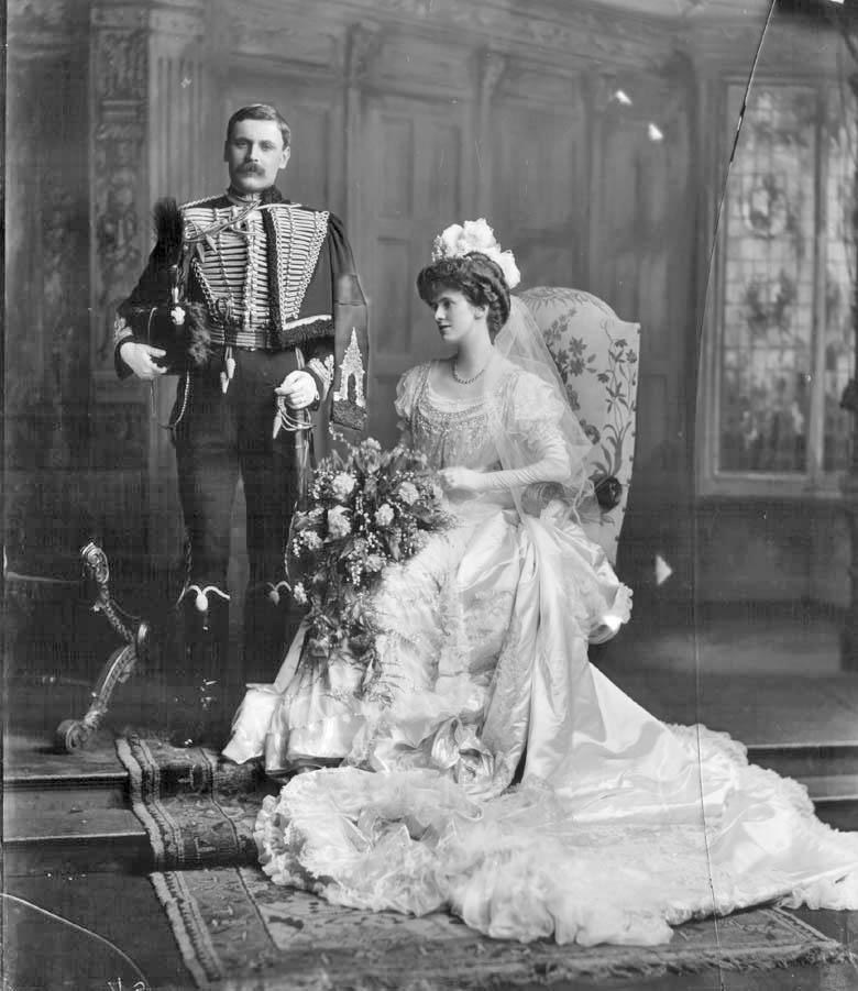 Vintage Edwardian Court Dress Lord & Lady Deramore