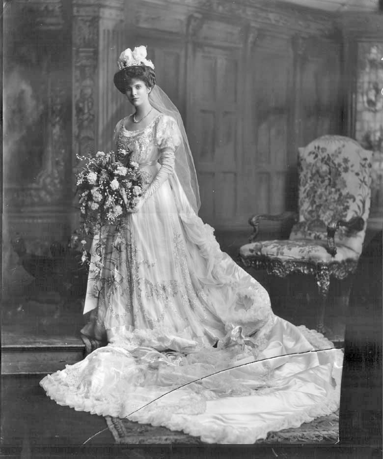 Chic Vintage Edwardian Court Dress - Lady Deramore