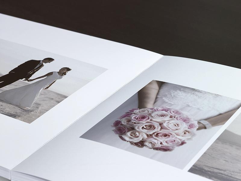 Cream Wedding Photo Album