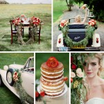Vintage 1930s Autumn Wedding Inspiration by Kirill Bordon Photography