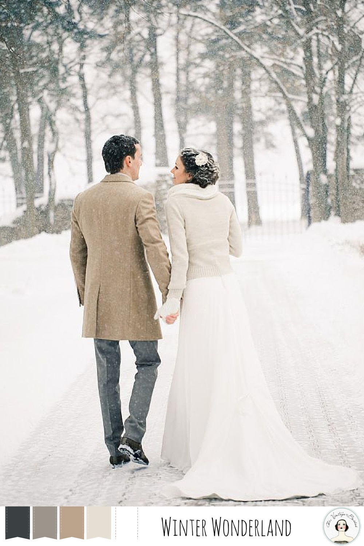 Winter Wedding Colour Palettes Winter Wonderland