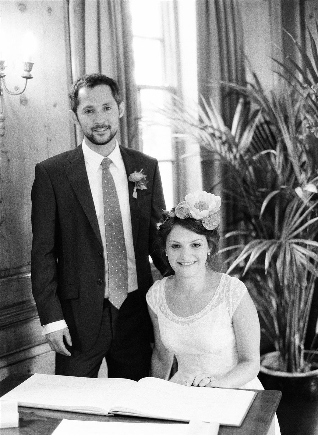 Wedding Ceremony - A 1940s Wedding Dress for a Sweet Early Summer Wedding from Taylor & Porter Photography