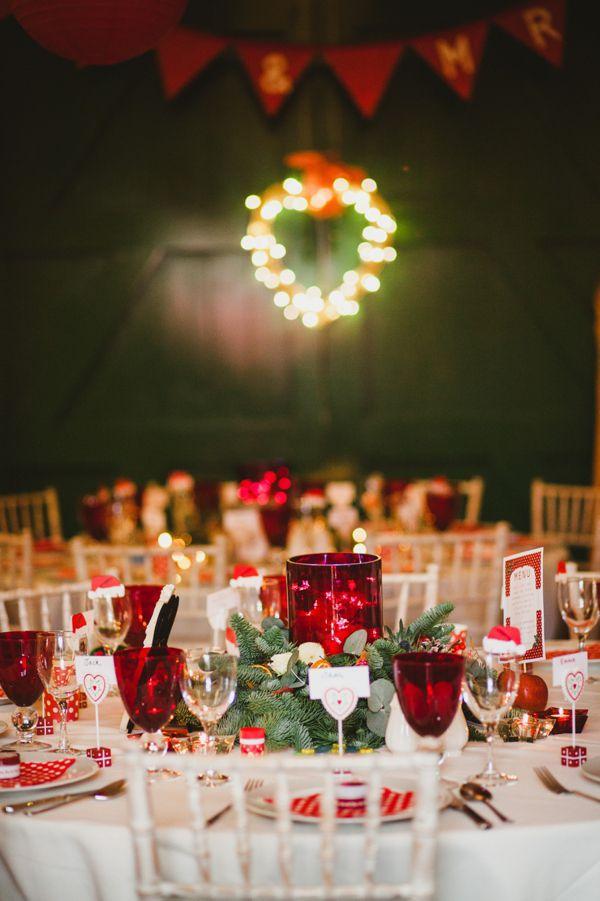 1950s Christmas Wedding